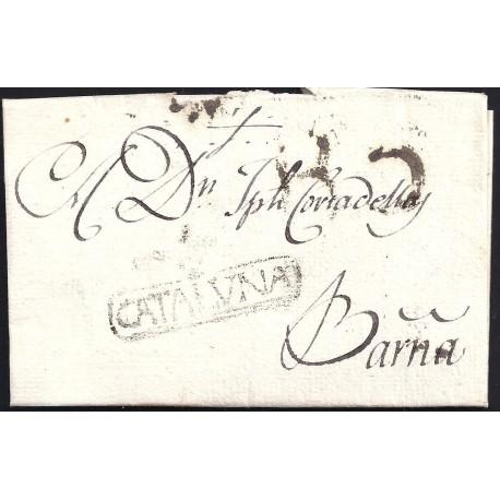 1804. ESPAÑA. SPAIN. ISONA A BARCELONA.