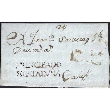 1789. ESPAÑA. SPAIN. SOLIVELLA A CALAF.