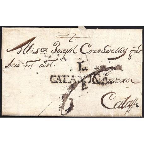 1781. ESPAÑA. SPAIN. CORBINS A CALAF.