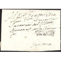 1762. ESPAÑA. SPAIN. HOSTALRIC A GIRONA.