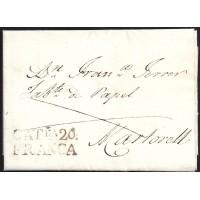 1830. ESPAÑA. SPAIN. IGUALADA A MARTORELL.