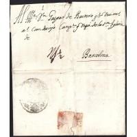 1730. ESPAÑA. SPAIN. ROMA A BARCELONA.