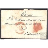 1846. ESPAÑA. SPAIN. MADRID A PIEDRAHITA.