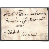 1794. ESPAÑA. SPAIN. ALFARO A RONCAL.