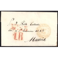 1848. ESPAÑA. SPAIN. A MADRID.
