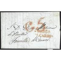 1838. ESPAÑA. SPAIN. BRIHUEGA A TORRECILLA.