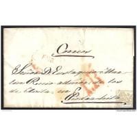 1848. ESPAÑA. SPAIN. MADRID A PIEDRAHITA.