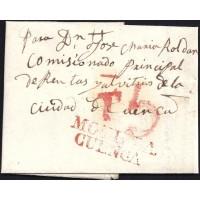 1836. ESPAÑA. SPAIN. MOTILLA DE PALANCAR A CUENCA.