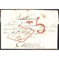 1838. ESPAÑA. SPAIN. TARANCON A CUENCA.