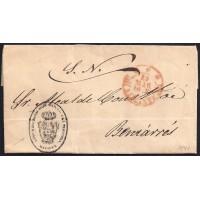 1847. ESPAÑA. SPAIN. ALICANTE A BENIARRES.