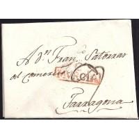 1806. ESPAÑA. SPAIN. CARTAGENA A TARRAGONA.