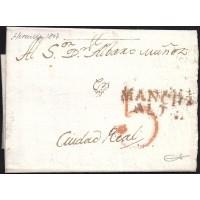 1807. ESPAÑA. SPAIN. HERENCIA A CIUDAD REAL.
