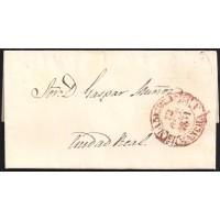 1851. ESPAÑA. SPAIN. ALCAZAR DE SAN JUAN A CIUDAD REAL.