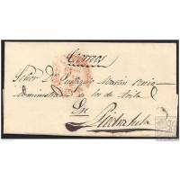 1849. ESPAÑA. SPAIN. MADRID A PIEDRAHITA.