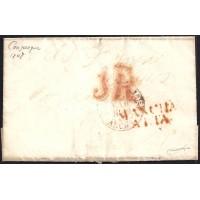 1848. ESPAÑA. SPAIN. CONSUEGRA A CIUDAD REAL.