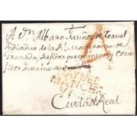1803. ESPAÑA. SPAIN. DAIMIEL A CIUDAD REAL.
