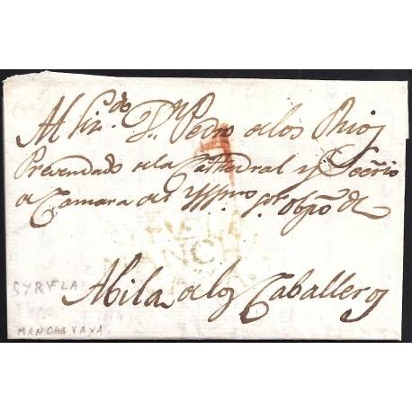1801. ESPAÑA. SPAIN. SIRUELA A AVILA DE LOS CABALLEROS.