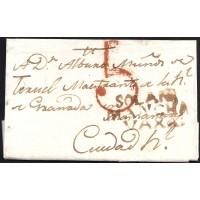 1805. ESPAÑA. SPAIN. LA SOLANA A CIUDAD REAL.
