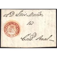 1847. ESPAÑA. SPAIN. ALMODOVAR A CIUDAD REAL.