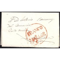 1826. ESPAÑA. SPAIN. PALMA DE MALLORCA A BARCELONA.