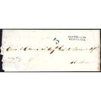 1850. ESPAÑA. SPAIN. ALACRANES A LA HABANA.
