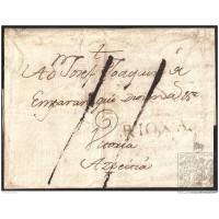 1782. ESPAÑA. SPAIN. CALAHORRA A AZPEITIA.