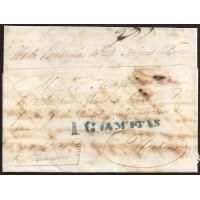 1842. ESPAÑA. SPAIN. PALMILLAS A LA HABANA.