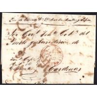 1847. ESPAÑA. SPAIN. EL ROQUE A CARDENAS.