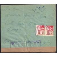 GUERRA CIVIL. REPUBLICANOS. SPANISH CIVIL WAR. REPUBLICANS. 1937. ARGANDA A TANGER. 45 CTS. ED. 737.