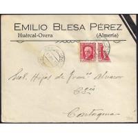 GUERRA CIVIL. REPUBLICANOS. SPANISH CIVIL WAR. REPUBLICANS. 1937. HUERCAL OVERA A CARTAGENA. 30 CTS. ED. 669.