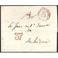 1844. ESPAÑA. SPAIN. GRANADA A ARCHIDONA.