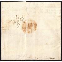 PRECURSORES. 1432. CONSEJO REAL DE MALLORCA. CARTA ESCRITA EN CATALÁN.