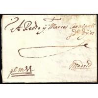 PRECURSORES. 1655. ESPAÑA. SPAIN. SEVILLA A MADRID.