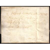 PRECURSORES. 1655. ESPAÑA. SPAIN. VALLADOLID A MADRID.