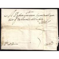 PRECURSORES. 1650. ESPAÑA/SPAIN. ALBACETE A MADRID.