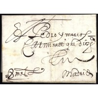 PRECURSORES. 1655. ESPAÑA. SPAIN. TOLEDO A MADRID.