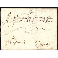 PRECURSORES. 1650. ESPAÑA. SPAIN. TOLEDO A MADRID.