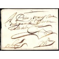 PRECURSORES. 1657. ESPAÑA. SPAIN. TOLEDO A MADRID.