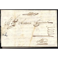 PRECURSORES. 1674. ESPAÑA. SPAIN. CÁDIZ A MADRID.