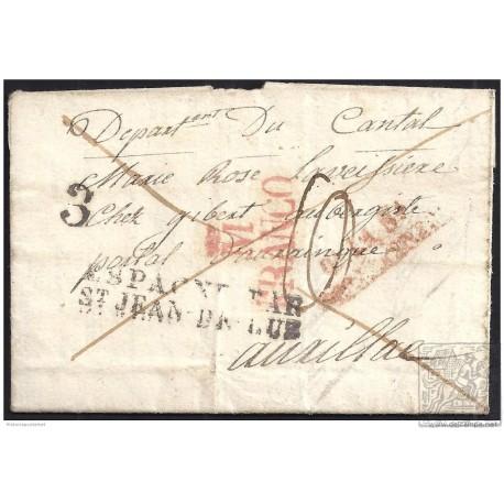 1831. ESPAÑA. SPAIN. NAVALCARNERO A FRANCIA.