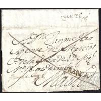 1825. ESPAÑA. SPAIN. GATA A MADRID.