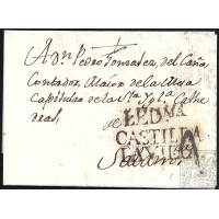 1803. ESPAÑA. SPAIN. LEDESMA A SALAMANCA.