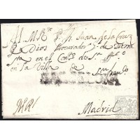 1734. ESPAÑA. SPAIN. PALMA DE MALLORCA A MADRID.
