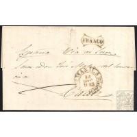1853. ESPAÑA. SPAIN. MANILA A CADIZ.