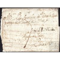 1783. ESPAÑA. SPAIN. CORRAL DE ALMAGUER (TOLEDO) A LINARES (JAEN).