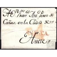 1792. ESPAÑA. SPAIN. CUENCA A HUETE.
