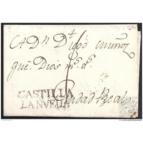 1780. ESPAÑA. SPAIN. TOLEDO A CIUDAD REAL.