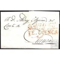 1834. ESPAÑA. SPAIN. SAN CLEMENTE A CUENCA.