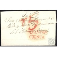 1837. ESPAÑA. SPAIN. TARANCON A CUENCA.