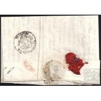 CORREO DESINFECTADO. 1832. ESPAÑA. SPAIN. DAMASCO A MADRID.